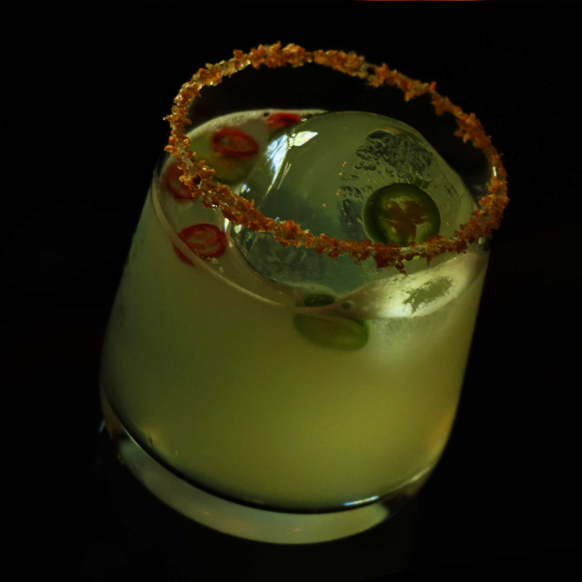 Singani 63 Spicy Margarita